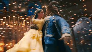 a bela e a fera dança