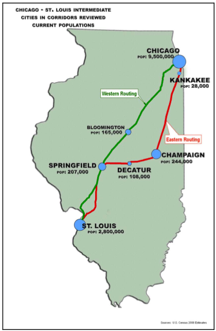 High Speed Rail in Illinois | CityPlanningNews com