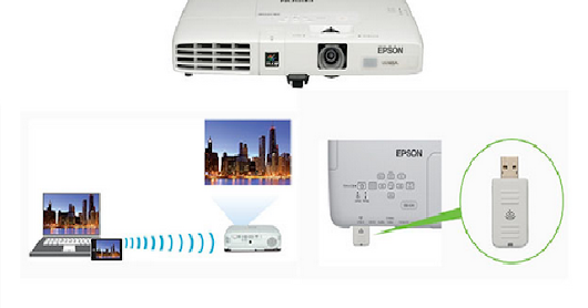Epson EB-1771W 3000 Lumen 3LCD Technology Ultra-mobile with WXGA resolution Projector