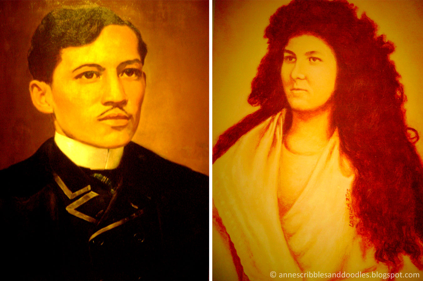 Jose Rizal Museum: Jose Rizal and Josephine Bracken
