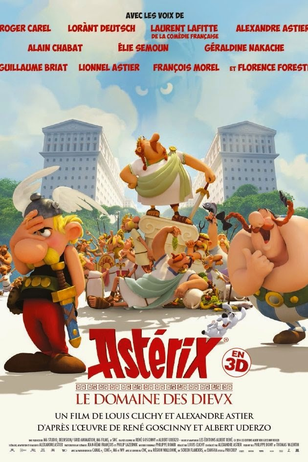 Asterix: The Mansions Of The Gods / Asterix: Le Domaine Des Dieux (2014) ταινιες online seires oipeirates greek subs