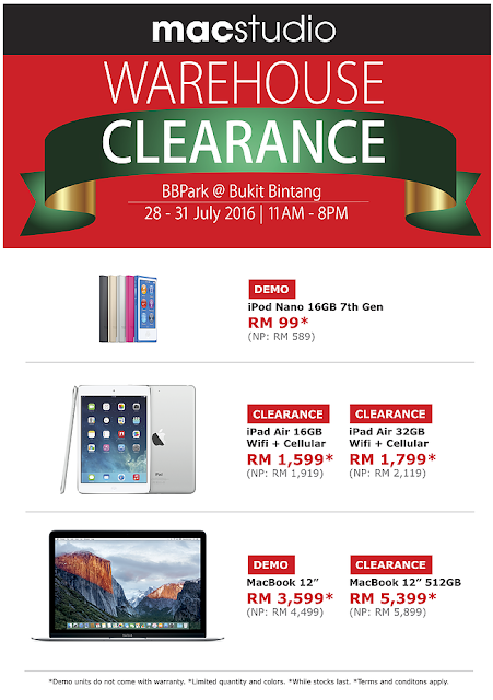 Apple iPad Air Macbook Clearance Sale Price