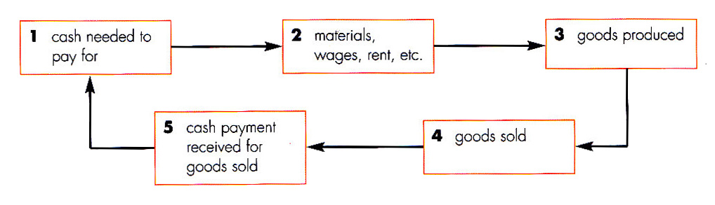 Business Studies Notes For IGCSE Chapter 8 Cash flow planning - cash flow business