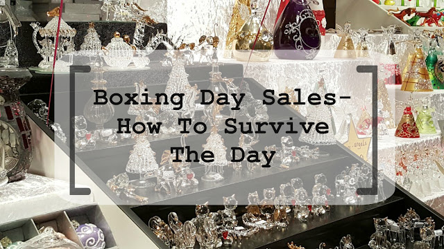 Boxing Day Sales- How To Survive The Day