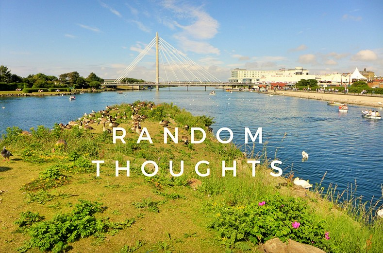 Random Thoughts: Saving and Setting Goals
