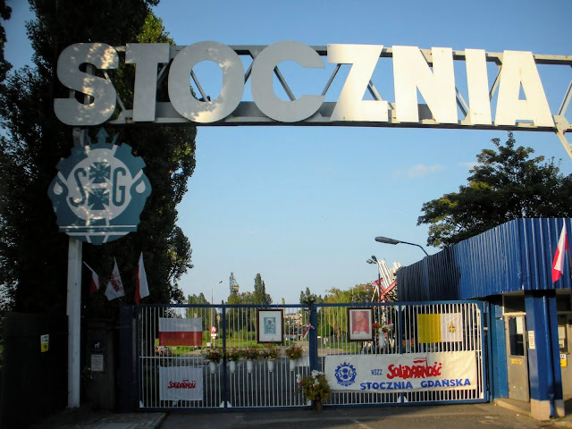 Things to do in Gdansk Poland: Tour Stocznia (the Gdansk Shipyards) and home of the Solidarity Movement