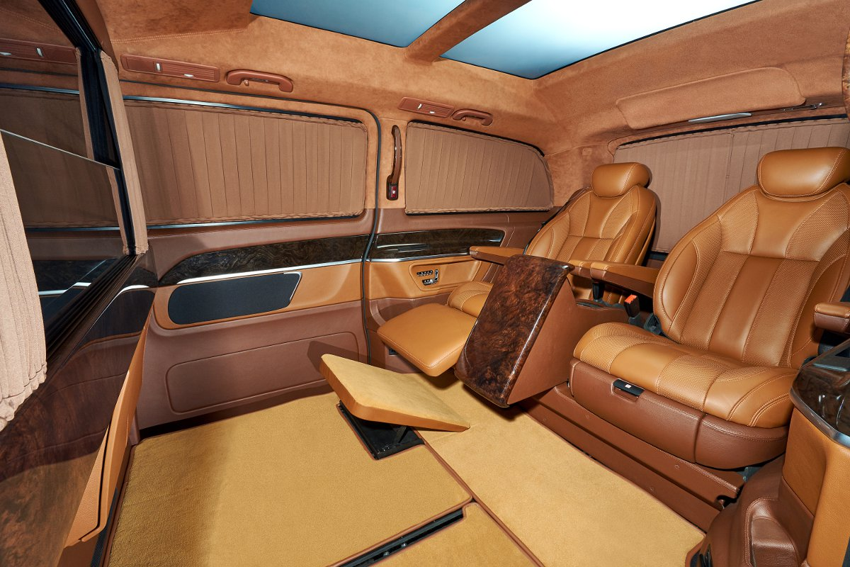 This 2015 Mercedes Benz V Class Is Way More Luxurious Than