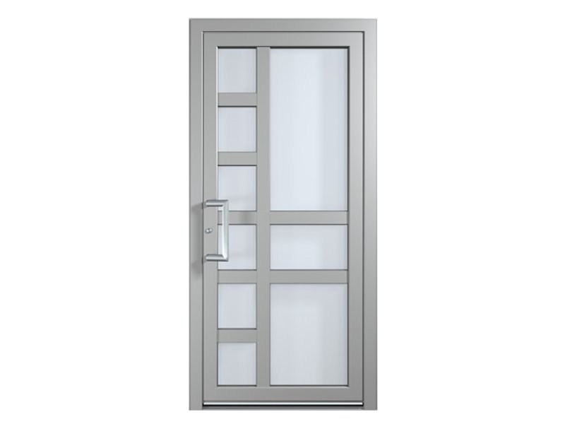 Puertas - Puertas de aluminio con cristal ...