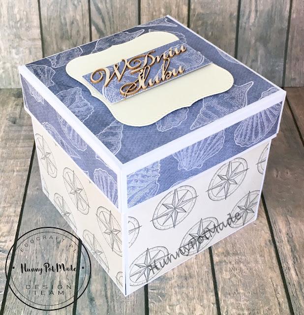 Marine style wedding box