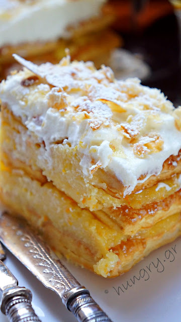 Orange Millefeuille
