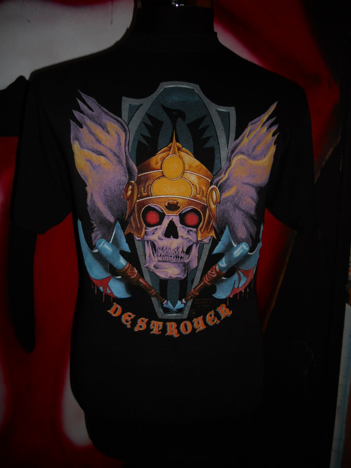 Trend Bundle September 2011 Tendencies Tshirt Rock Mickey Hitam Xxl Vtg Destroyer Tag 3d 89 50