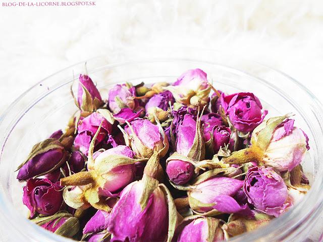 Prírodné ružové púčiky Alteya Bioruža