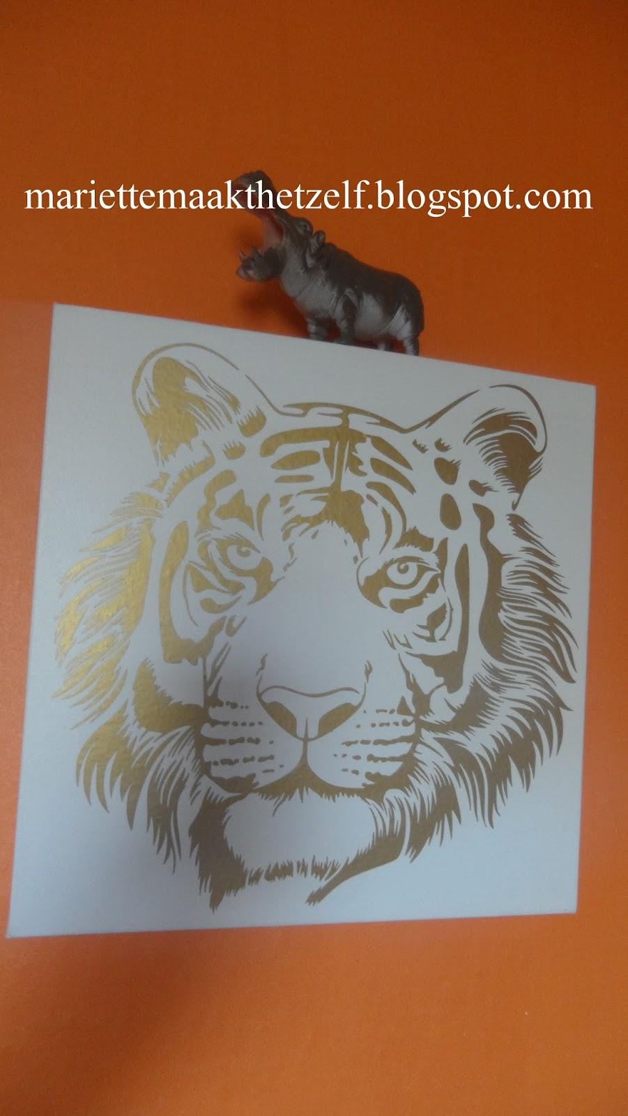 Mariette maakt het zelf deco voor de safari kamer - Deco kamer jongen jaar ...