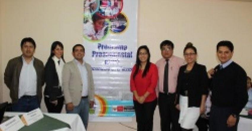 Especialistas del MINEDU monitorean primera mesa regional del programa presupuestal 0091 en la DRE Amazonas