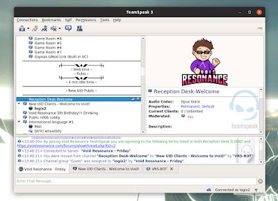 TeamSpeak 3 client Linux