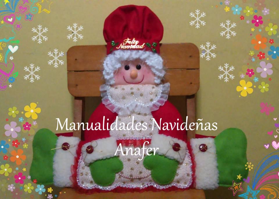manualidades anafer cubresillas 2016 On manualidades de navidad 2016