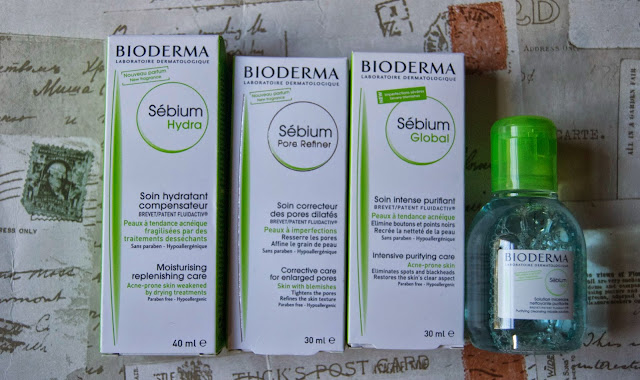 Review: Bioderma Sébium Range