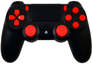 playstation 4 modded controllers ps4 mod controllers ps4 red out playstation 4