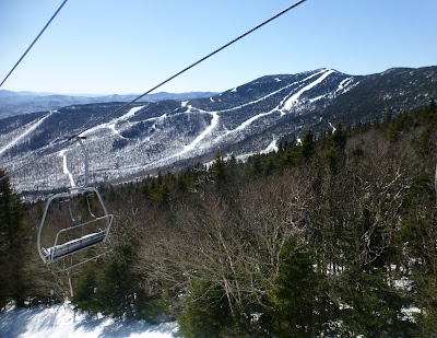 Sugarbush, Saturday 3/31/2018.  The Saratoga Skier and Hiker, first-hand accounts of adventures in the Adirondacks and beyond, and Gore Mountain ski blog.