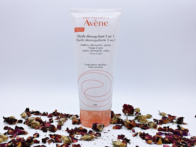 Fluido Desmaquillante Avène Avene limpieza facial ojos rostro belleza beauty leche fluido agua termal dermocosmética farmacia