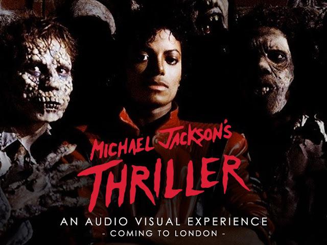 Michal Jackson Thriller Poster