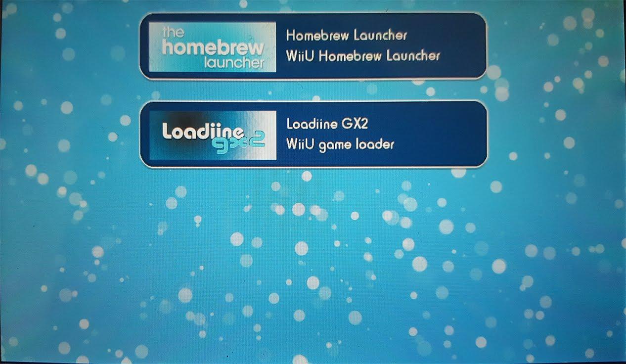 wii U - Homebrew launcher com suporte ao pro controller