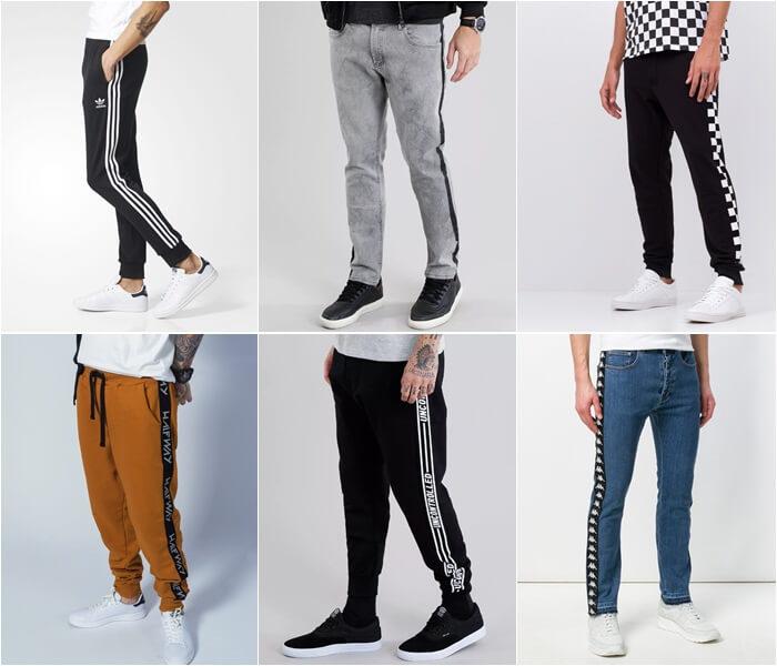 onde comprar calças com listras