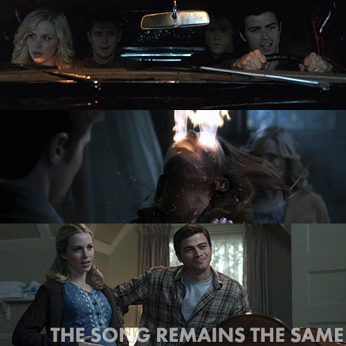 Supernatural 5x13 - The Song Remains the Same