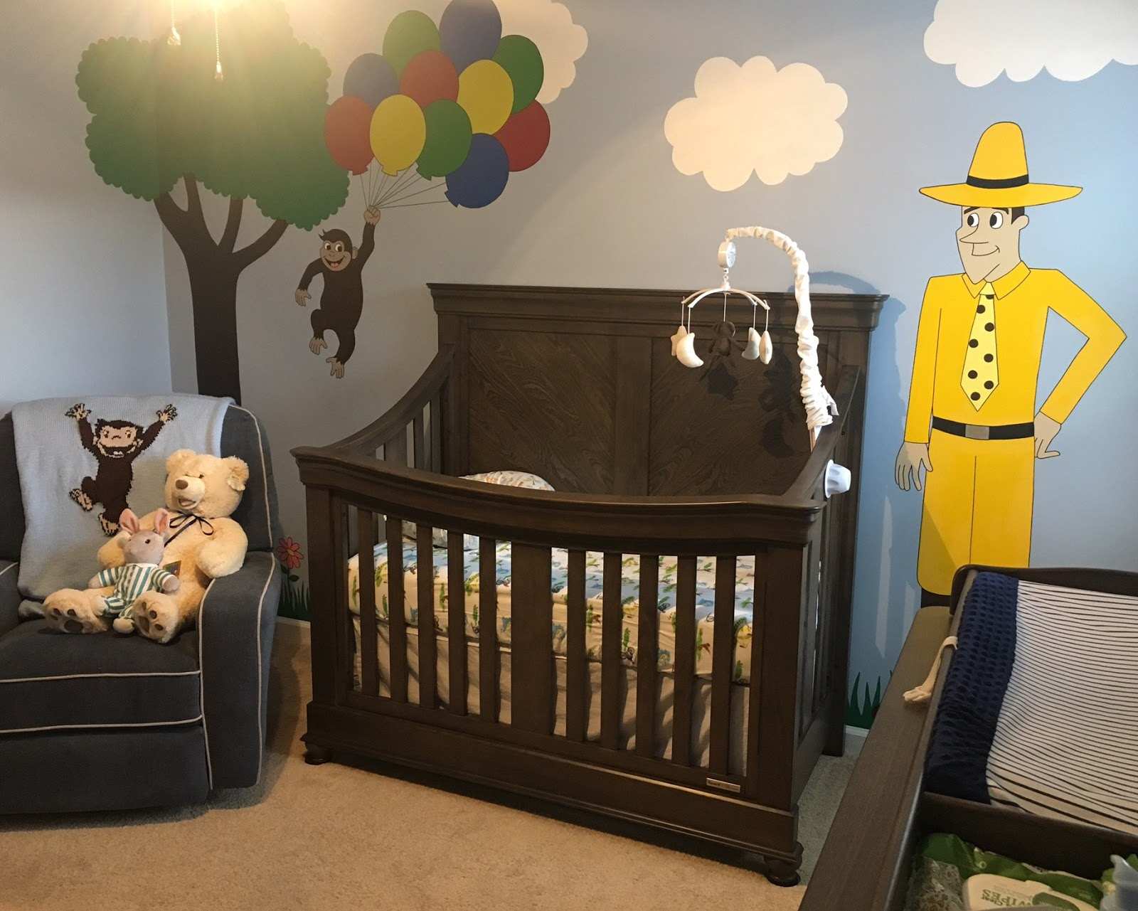 how to arrange nursery furniture. Finally, Another Angle Of The Room To See Some Dresser. We Splurged And Purchased Changing Gallery For It Was An Added Cost, How Arrange Nursery Furniture E