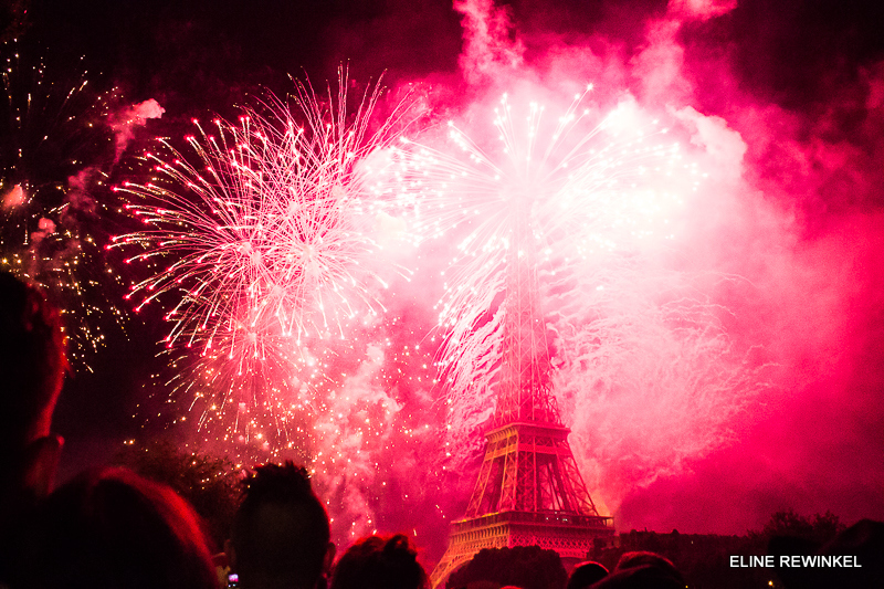 Fireworks Bastille Day Paris