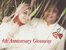Wedding Anniversary Giveaway NaelofarHijab