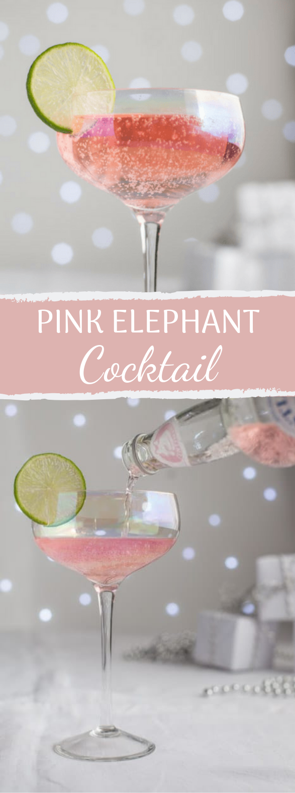 Pink Elephant Cocktail #drinks #holiday