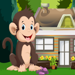 Games4King Cute Monkey Rescue