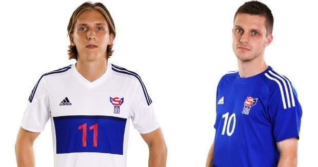 Adidas divulga as novas camisas das Ilhas Faroe - Show de Camisas fbf7fe6652ba4