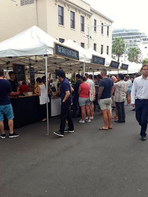 Friday Foodie Market near Harbour Bridge Sydney