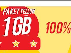 Cara Aktifkan Paket Yellow Indosat Ooredoo 1 GB Hanya Rp 1.000/Hari