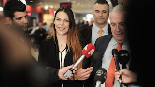 Στην Ελλάδα η Ειρήνη Μελισσαροπούλου: Είχα πει από την αρχή πως ήμουν αθώα - Θέλω να πάω στη Μυτιλήνη (Video)