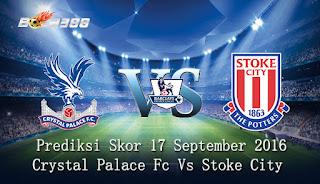Agen Bola Terpercaya - Prediksi Skor Crystal Palace Fc Vs Stoke City 18 September 2016
