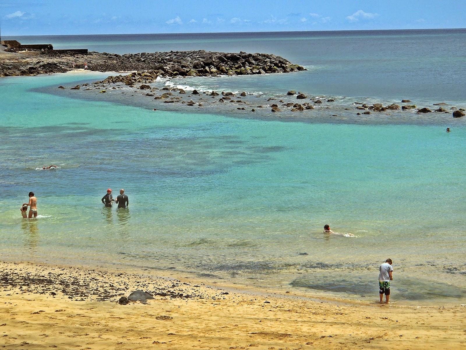 playa del jablillo snorkel canarias españa