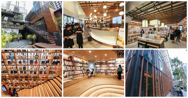 台中西屯|蔦屋書店台中市政店|300坪空間融合書店和咖啡