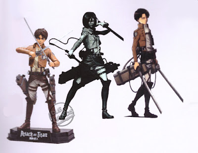Toy Fair 2017: McFarlane Color Tops Action Figures Attack on Titan