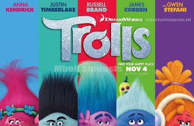 Sinopsis Film Trolls 2016
