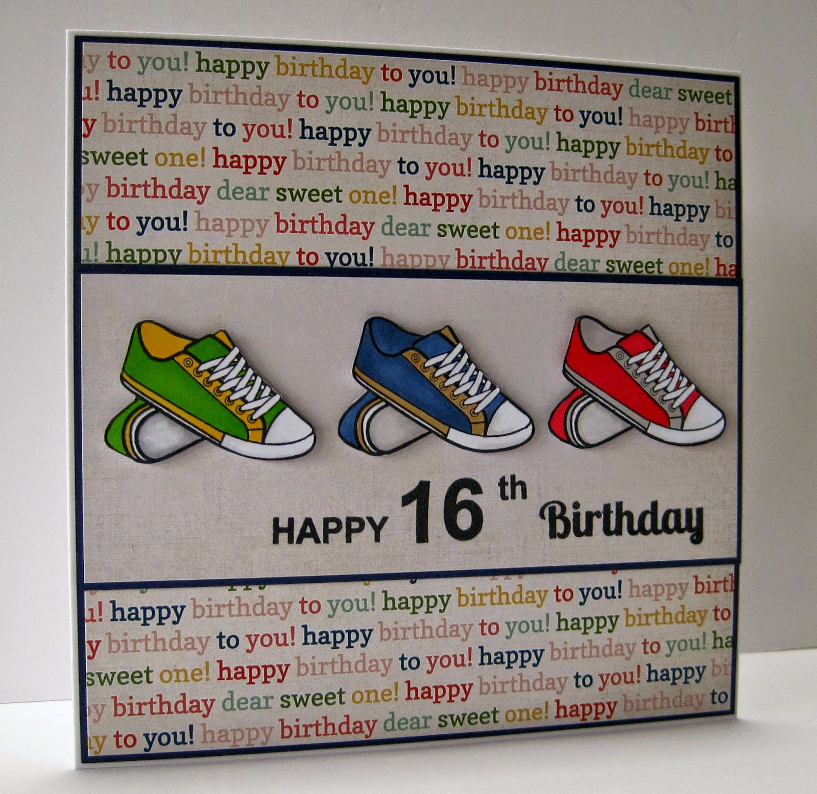 Crafting With Cotnob: Happy 16th Birthday