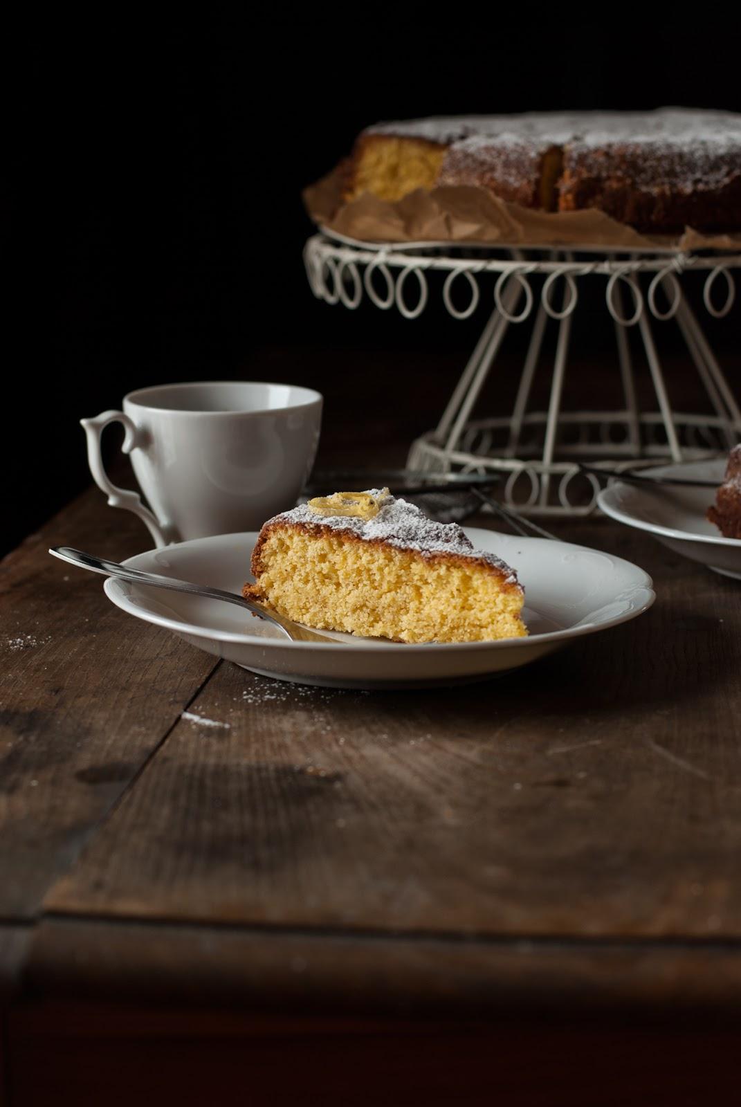 Bezglutenowe ciasto cytrynowe Torta Paradiso