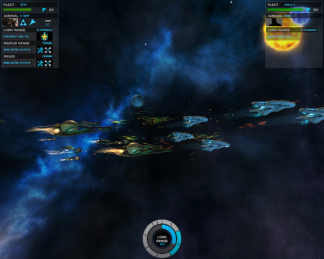 Big Ships Battle | Endless Space Game Screenshot