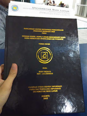 JASA JILID HARD COVER TERMURAH JAKARTA
