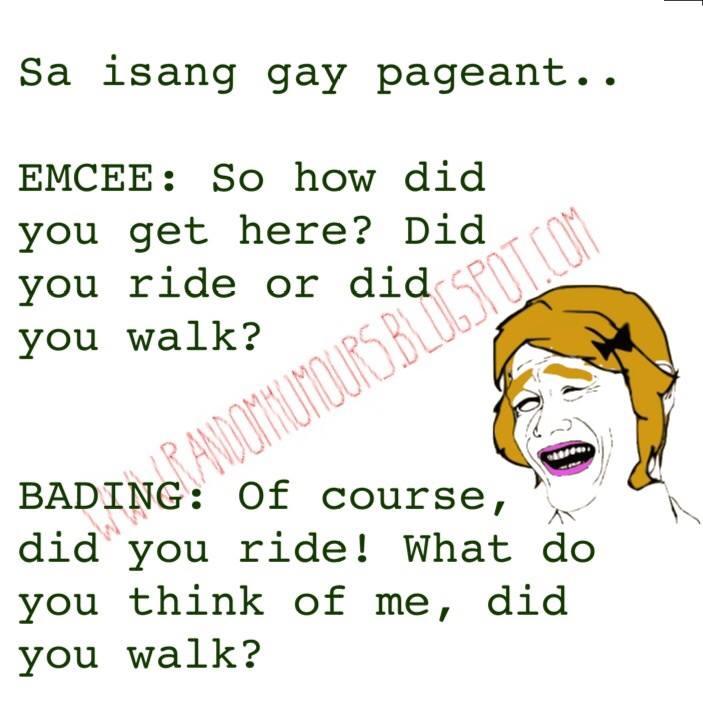 Sa  isang gay pageant