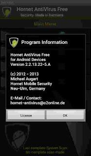 Hornet Antivirus Information