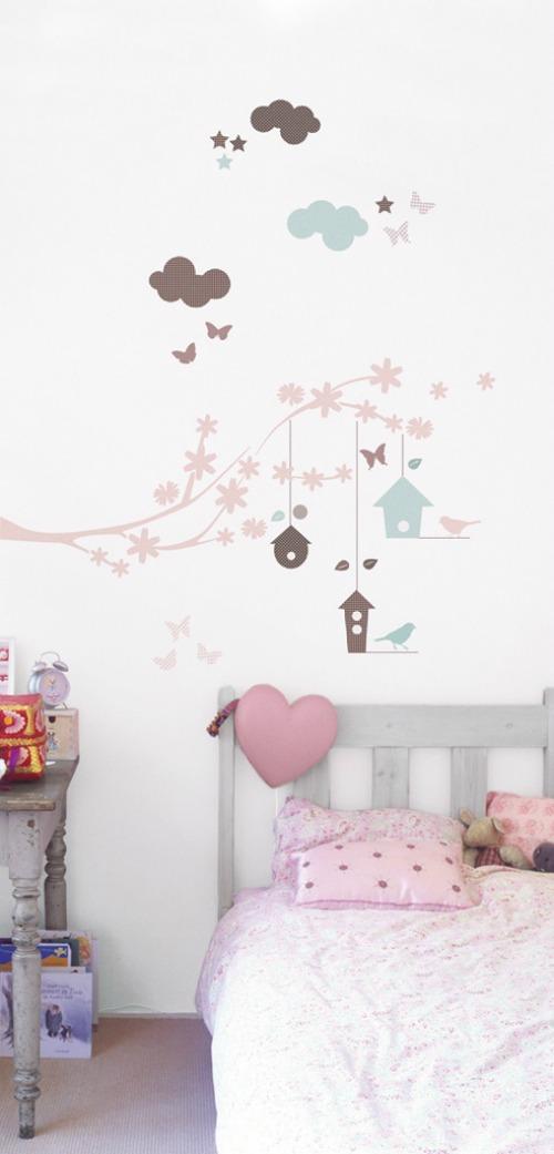 De lunes a domingo vinilos para decorar dormitorios for Vinilos cuartos infantiles