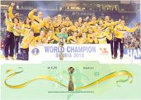 World Champion Serbia in 2013
